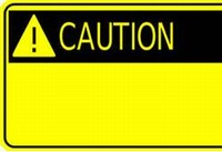 During road work - please use caution around men at work